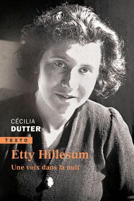 Couverture livre Etty Hillesum - Une voie dans la nuit